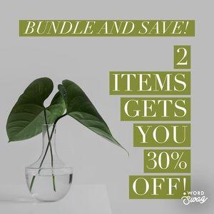 Bundle Any 2 Items In Our Closet For 30% Off!